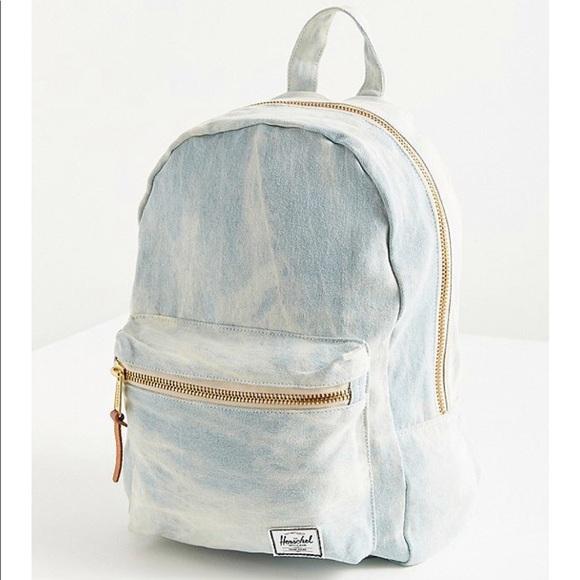 636ff69a1301 Herschel Supply Co. Grove Bleached Denim Backpack